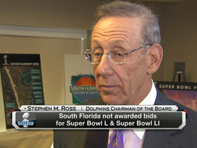Watch: Ross: Stadium 'definitely' the issue with South Florida bid