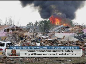 Roy Williams talks tornado relief efforts