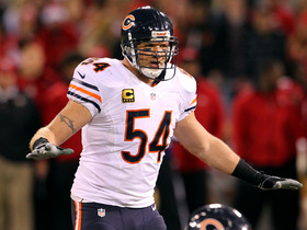 Watch: Brian Urlacher announces retirement