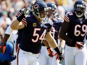Urlacher carried on Bears' linebacker legacy