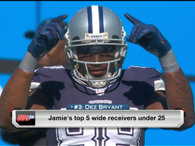 Watch: Top five WRs under 25