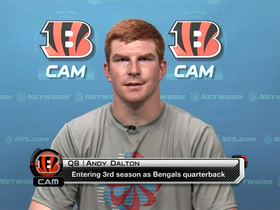 Video - Cincinnati Bengals QB Andy Dalton striving to be considered 'elite'