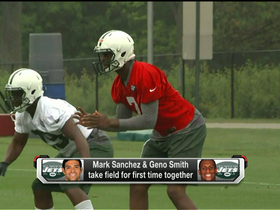 Watch: Jets' QB competition officially begins