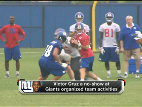 Watch: Cruz, Nicks absent at Giants OTAs