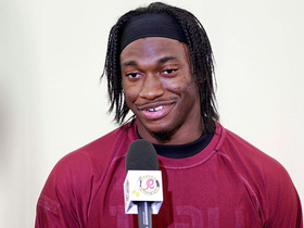 Watch: RG3 addresses the media