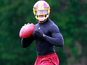 Watch: How well are Redskins handling RG3's rehab?