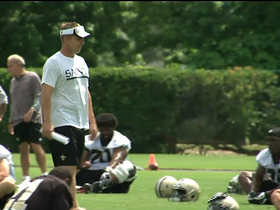 Watch: Saints marching toward minicamp
