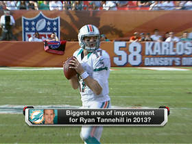 What areas of Tannehill's game need to improve?