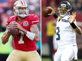 Who will rank higher in 2014: Wilson or Kaepernick?