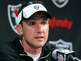 Watch: Raiders head coach on Hayden injury