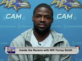 Video - Torrey Smith shows off new look