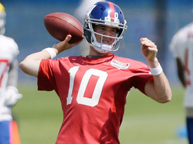 Watch: Giants kickoff OTAs without Nicks and Cruz