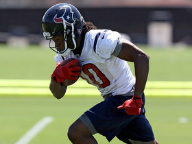 Watch: Rookie Hopkins shining at Texans OTAs
