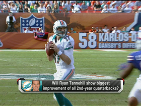 Watch: Evans on Tannehill: 'Might be a bit of a grind'