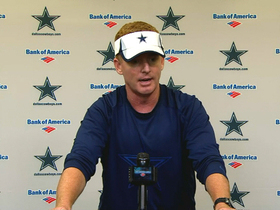 Video - Dallas Cowboys coach Jason Garrett responds to offensive coordinator Bill Callahan calling plays