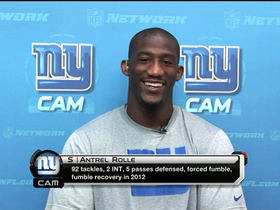 Watch: Rolle expects big things from Big Blue
