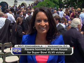 Video - Ravens honored at White House
