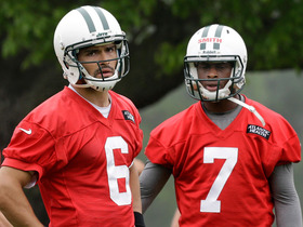 Watch: Sanchez-Geno Smith QB competition heats up
