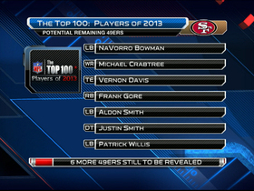 Watch: Will Vernon Davis make 'The Top 100'?