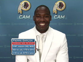 Video - Pierre Garcon joins 'NFL AM'