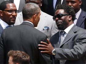 Video - Ed Reed discusses White House visit, gives health update