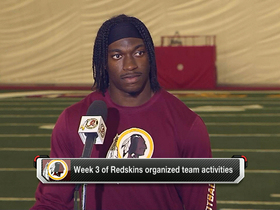 Video - RG3 will be at training camp 'without a doubt'