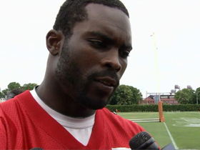 Watch: Michael Vick:  'I feel good about where I'm at'