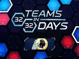 Watch: 32 in 32:  Washington Redskins