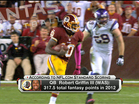 Watch: Fantasy focus:  Washington Redskins