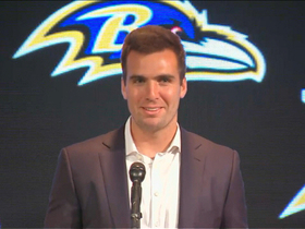 Watch: Joe Flacco on Super Bowl ring:  'It's pretty special'
