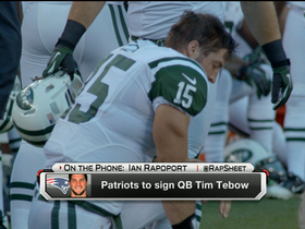 Watch: New England Patriots to sign Tim Tebow