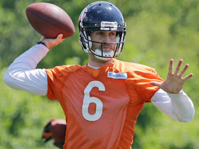 Watch: Bears' Cutler sees bright future under Trestman