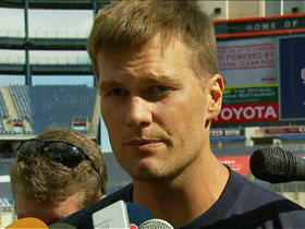 Video - New England Patriots quarterback Tom Brady not worried about Tim Tebow distraction