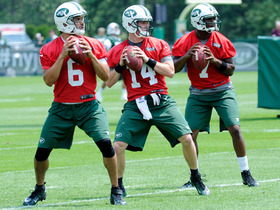 Watch: Latest on Jets' quarterback situation