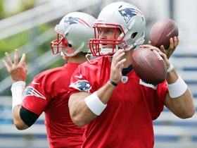 Watch: Tim Tebow's second day with Patriots