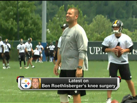 Watch: Big Ben on the mend