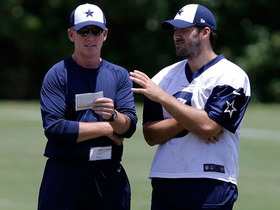 Watch: Romo blossoming as a leader