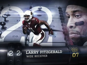Video - 'Top 100 Players of 2013':  Larry Fitzgerald