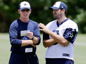 Watch: Garrett: Romo has embraced leadership role