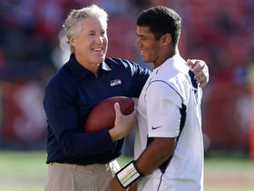 Watch: Seahawks Pete Carroll raves about Russell Wilson