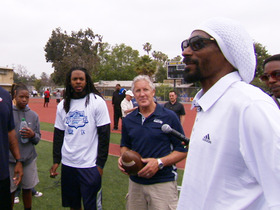 Watch: Snoop Dogg and Richard Sherman one-on-one