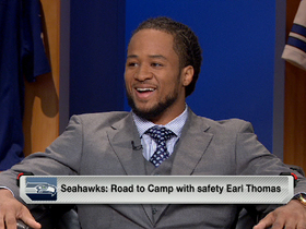 Watch: Road to camp with Earl Thomas