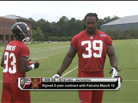 Watch: Steven Jackson: Atlanta makes me raise my game