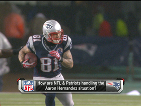Watch: No comments from Patriots on Hernandez