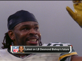Video - Former Green Bay Packers linebacker Desmond Bishop's future