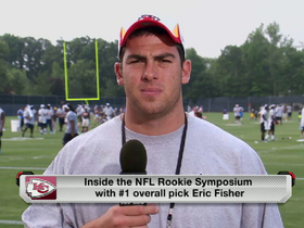 Video - Eric Fisher checks in from rookie symposium