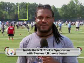 Video - Jarvis Jones learns the Steeler way