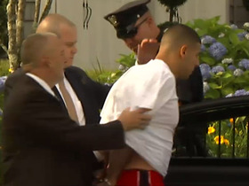 Video - Aaron Hernandez taken into custody