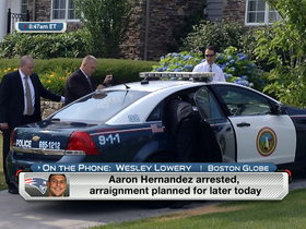 Video - Boston Globe reporter details Aaron Hernandez arrest