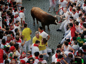 Video - Jetting from the bulls